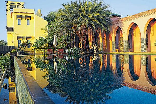 villa maroc在泰国海边度假区华欣邻近的班布里,这裏骤眼看真的很像