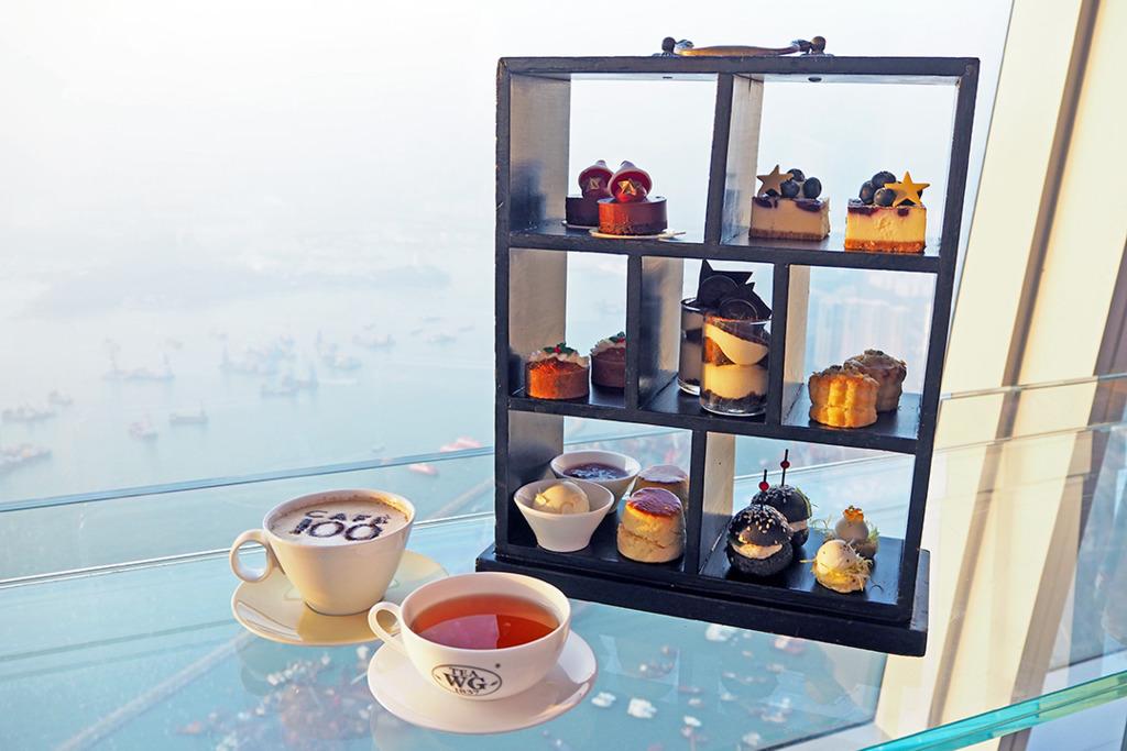 天際100聖誕下午茶 3.5小時高空歎8款茶點