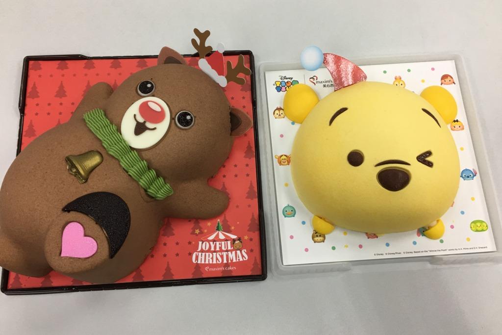 小熊維尼聖誕蛋糕+Tsum Tsum甜品杯登場!同場加映可愛朱古力馴鹿蛋糕