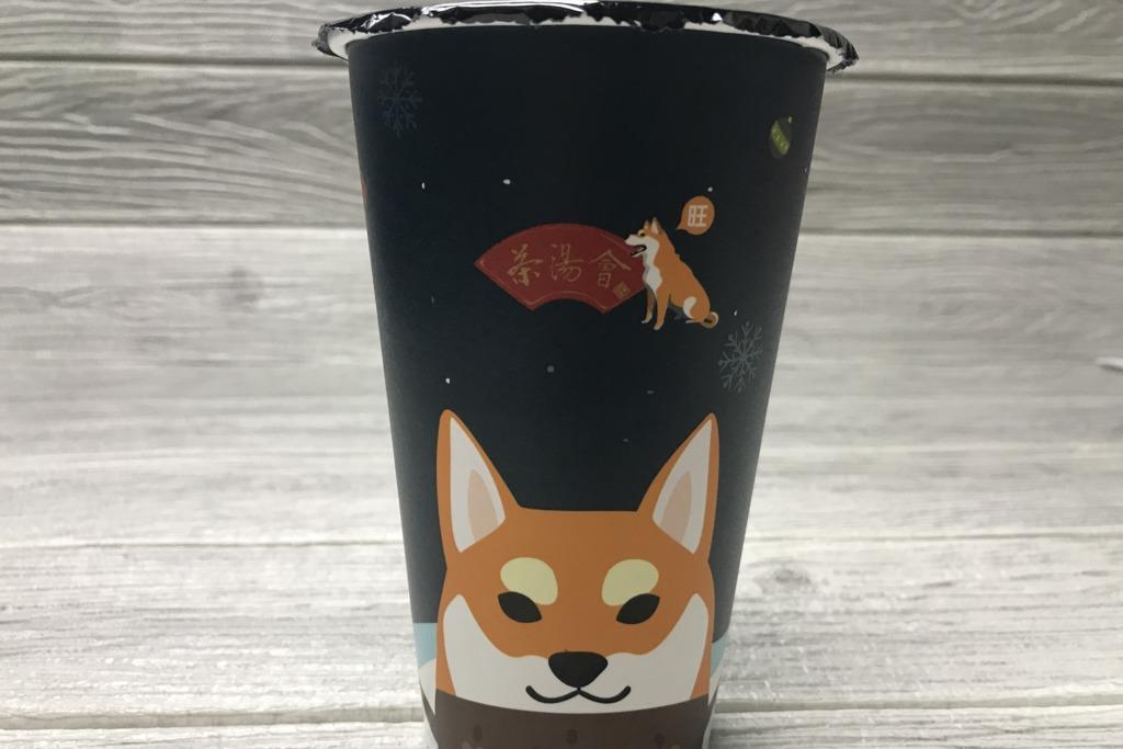 茶飲店冬日限定! 可愛柴犬熱飲杯