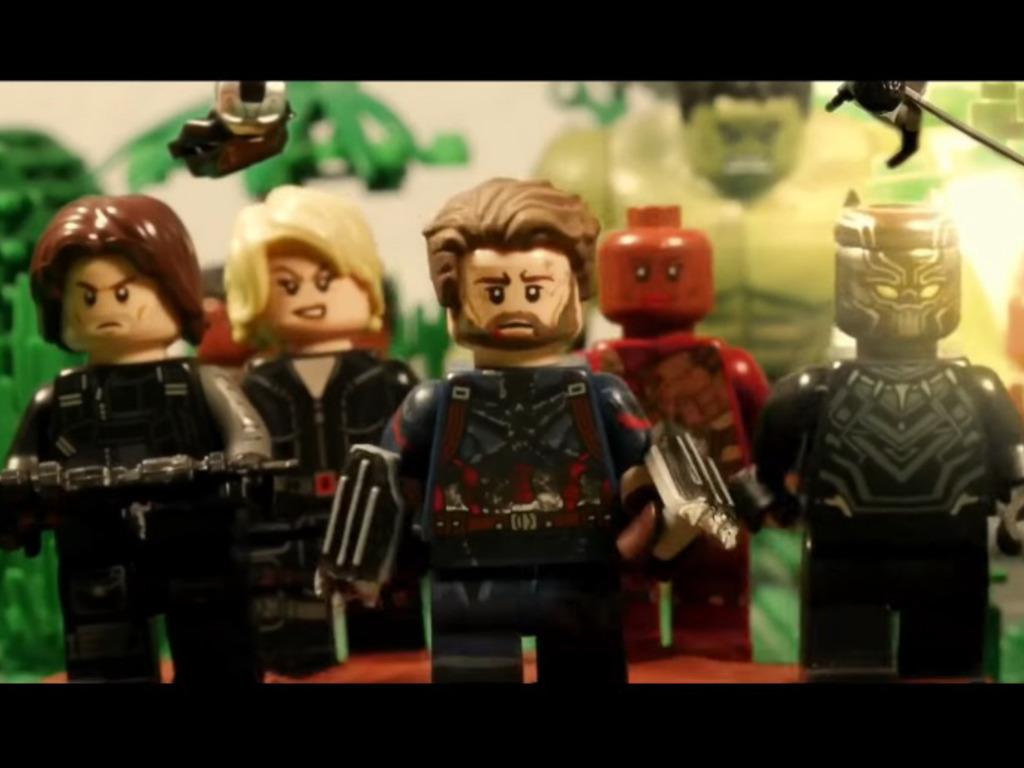 復仇者聯盟3 Image: Lego 版《復仇者聯盟 3:無限之戰》預告!超多彩蛋
