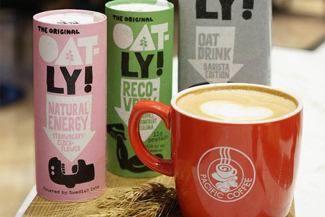 Pacific Coffee純素燕麥奶咖啡 增至30間指定分店有售!