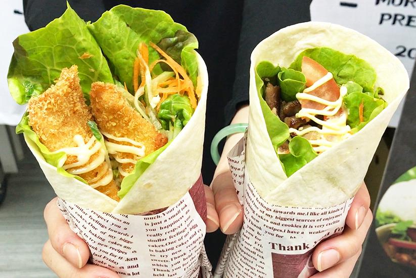 葵廣又有新食店加入啦! 大份足料墨西哥卷