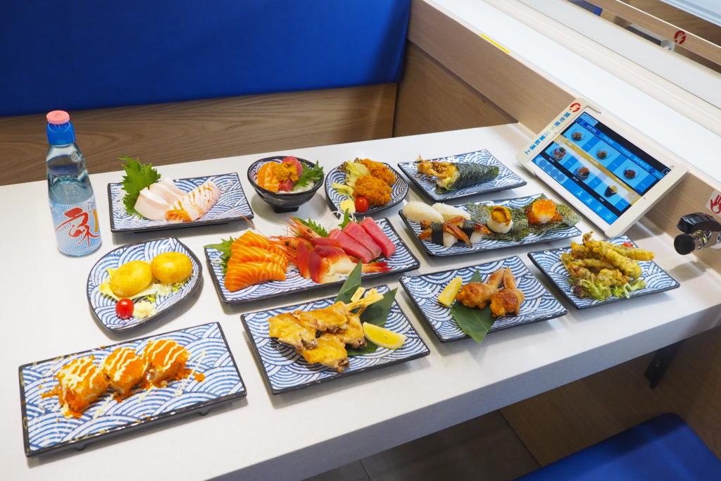 九龍灣壽司列車主題餐廳新登場 $20鮮甜海膽魚生丼