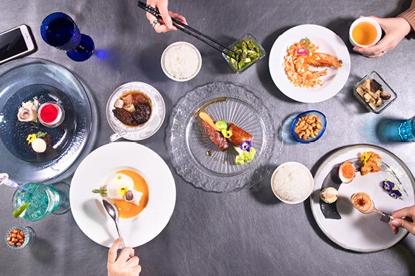 海龍王餐廳 昇華主題公園餐飲層次