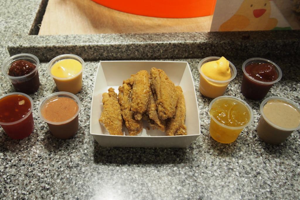 屯門掃街之選 良景市集新出單骨雞翼+自選醬料