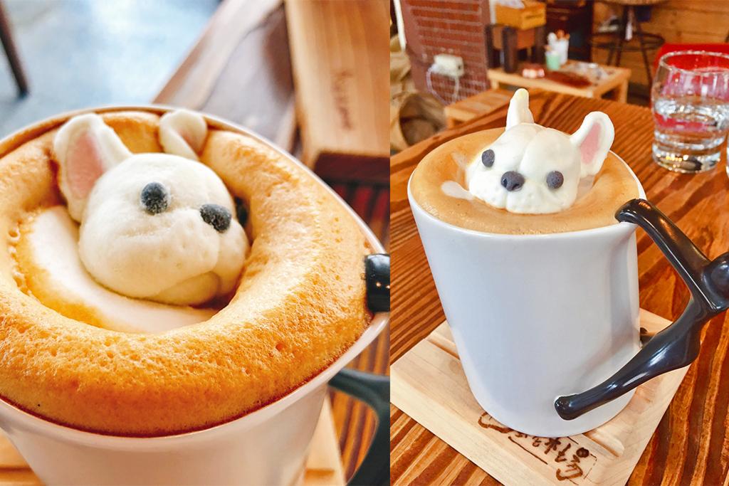 俘虜少女心! 台灣法鬥棉花糖咖啡