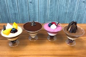 聖安娜新出4款迷你慕斯杯  Tiramisu/芒果/雜莓/朱古力