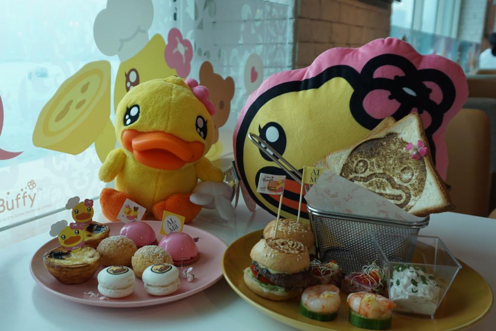 尖沙咀餐廳聯乘B.Duck推Buffy主題下午茶