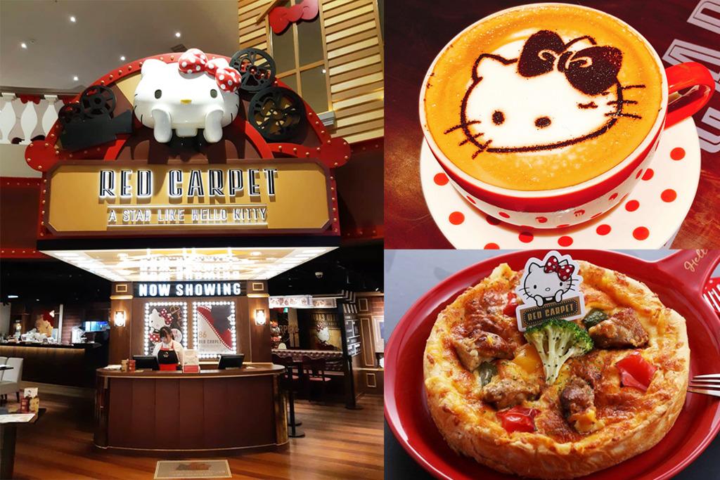 台灣Hello Kitty美式餐廳 限定荷里活電影主題