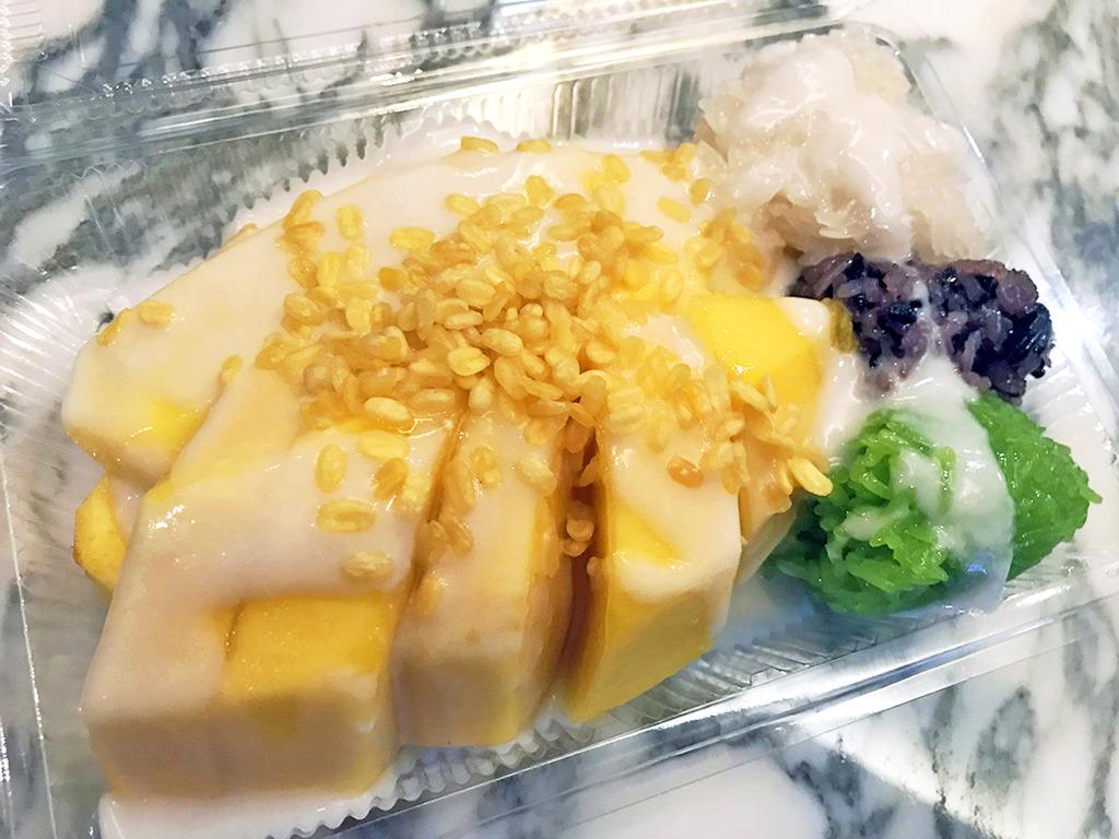 芒果糯米飯 泰國的圖片搜尋結果