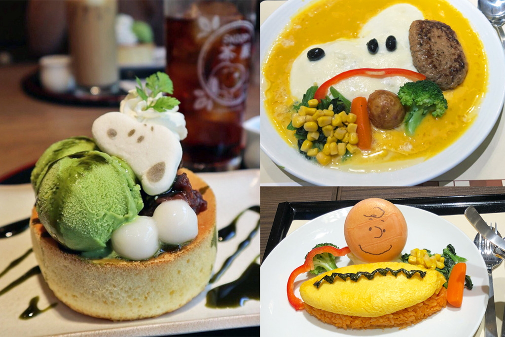 【日本美食】日本Snoopy主題和風茶屋 食物賣相精緻可愛