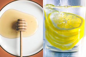 每朝一杯蜂蜜檸檬水滋潤肌膚有助減磅