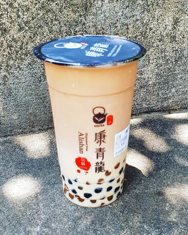 康青龍;黑白珍珠奶茶;珍珠奶茶;台灣珍珠奶茶