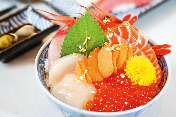 當新幹線帶來美食 ── 九井壽司