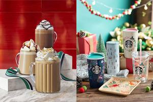 Starbucks聖誕限定冬日產品系列