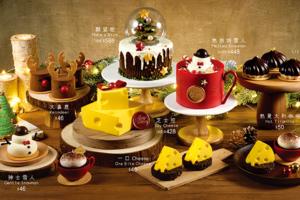 蛋糕店Twinkle Baker Decor新推出聖誕蛋糕 2018,有聖誕樹、雪人、許願球等造型,賣相吸引,好適合聖誕派對呢!