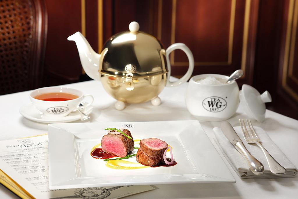 Tea WG香港推以茶入饌聖誕大餐