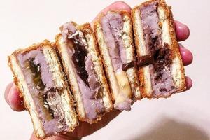台灣向來是美食天堂,到台北或台中搵食的朋友可試試「我炸你食」的麻糬炸芋頭餅和拉絲芝士球。