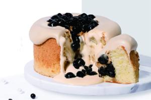 深圳喜茶熱麥新推出兩款戚風蛋糕,分別是黑糖波波蛋糕和芋泥波波蛋糕,喜歡飲黑糖波波茶(黑糖珍珠鮮奶)和芋泥波波茶的朋友可以試試!