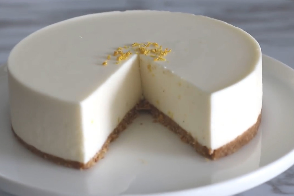【蛋糕食譜】超簡易蛋糕食譜  免焗檸檬芝士蛋糕