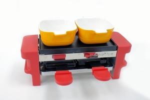 【廚具開箱】屋企都食到芝士火鍋/朱古力火鍋!試用Recolte迷你雙層煎烤盤