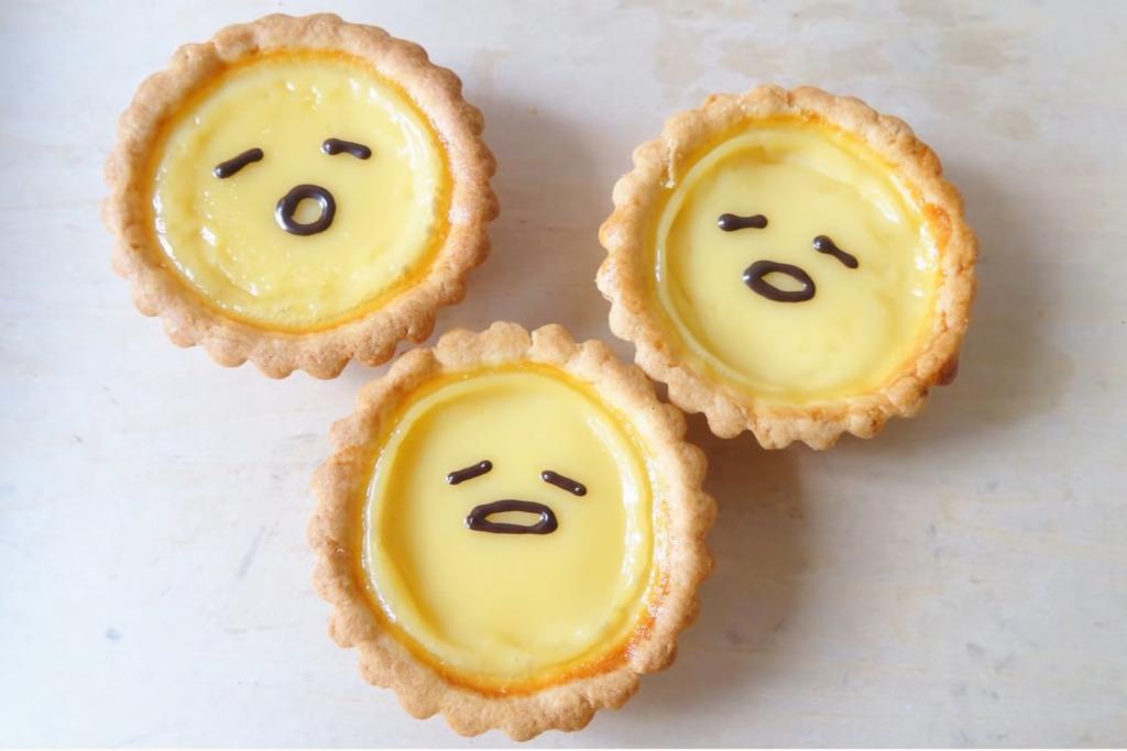 【甜品食譜】香噴噴新鮮出爐! 自製趣緻蛋黃哥蛋撻