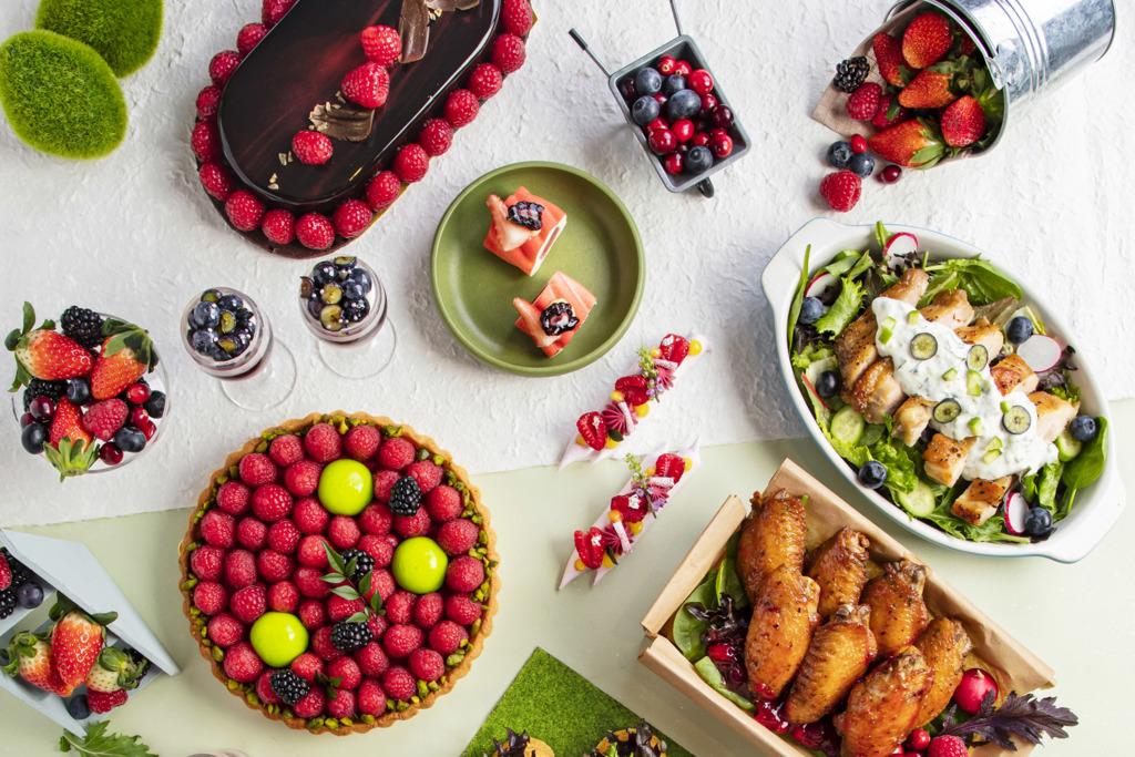 【旺角自助餐】旺角酒店莓果主題下午茶自助餐 任食多款士多啤梨/藍莓甜點
