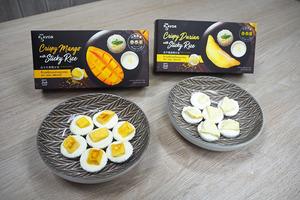 優品360有得買泰國芒果糯米飯味乾和榴槤糯米飯乾,下次食零食時又多個選擇啦~