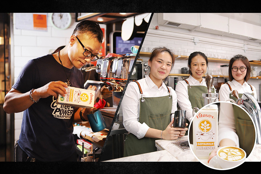 咖啡界年度盛事植物奶首次現身  宣揚健康‧品味新熱潮