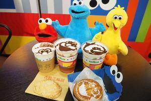 【旺角Cafe】旺角辦館聯乘芝麻街  開設全球首間「芝麻開運Pop-up Café」賀新春