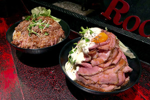 日本東京原宿人氣平價牛排丼Red Rock 流心蛋黃層層疊爆牛丼