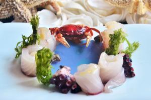 漬日本魚生炸澤蟹