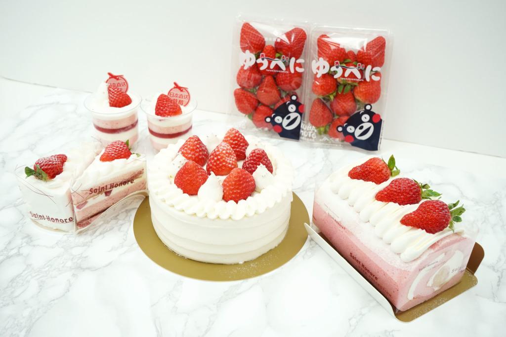 【聖安娜蛋糕】聖安娜餅屋推出100%日本草莓蛋糕系列 日本直送士多啤梨/北海道3.7牛乳忌廉