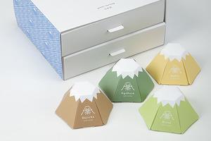 下次買日本手信可選擇茶葉品牌「CHANPAN」的日本富士山造型茶包。
