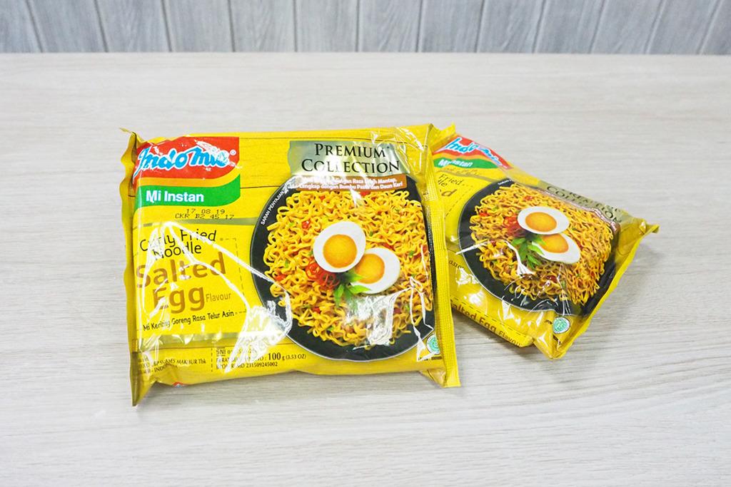 印尼營多撈麵Indomie新推出咸蛋營多撈麵,愛食鹹蛋的朋友別錯過呀!