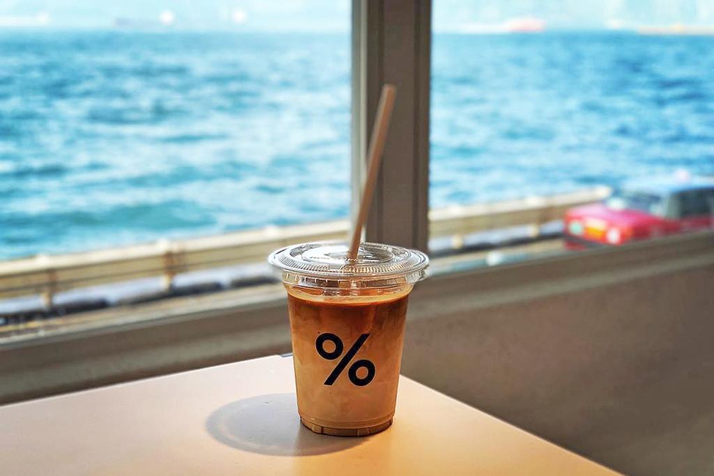 喜歡到西環Cafe過個悠閒下午的朋友可試試新開張的西環% Arabica,對住海景歎咖啡!