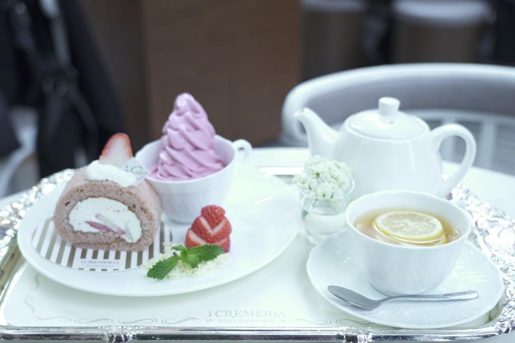 【旺角美食】日式甜品店推情人節限定系列 日本士多啤梨甜品/Tea Set