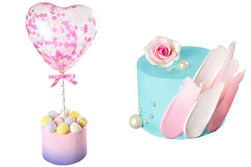 情人節蛋糕 2019:Twinkle Baker Décor心型汽球蛋糕