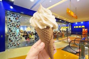 【IKEA 雪糕】IKEA美食站期間限定雪糕 $4.5大吉嶺紅茶新地筒新登場