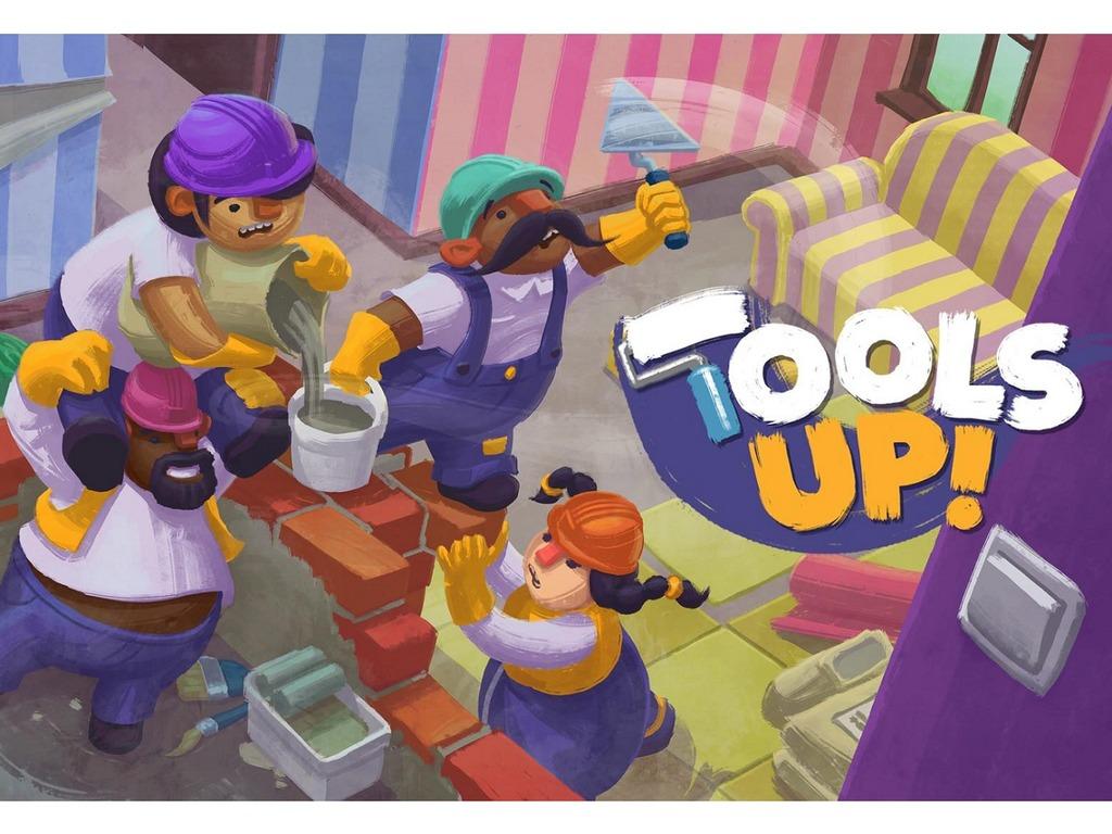 Switch 多人合作新 Game《Tools Up!》登場! 夾手夾腳裝修屋企