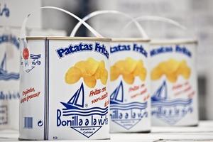【健康薯片】攻佔IG版面!韓妹打卡新寵 西班牙油漆桶薯片