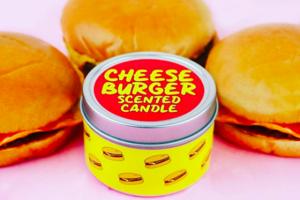 【減肥恩物】澳洲惡搞創意精品品牌Grey Lines  推出芝士漢堡/爆谷/即食麵味蠟燭/麥樂雞浴球